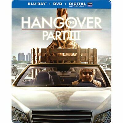 The Hangover Part III Steelbook (Blu-ray/DVD) Collector's edition