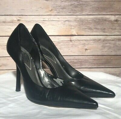 91f1ccf2d2 Guess by Marciano Carrie Women's High Heel Stiletto Pointy Black Pumps Sz  6.5 M