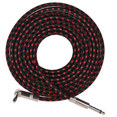 3 Meters/10 Feet Electric Guitar Bass Musical Instrument Cable Cord V6N7