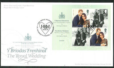 2018 FDC - Royal Wedding  St Georges Chapel Windsor H & M  Postmark  post free