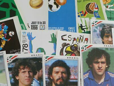 Panini Mexico 86 Stickers - Badges, Posters, Stadiums & Classic Players