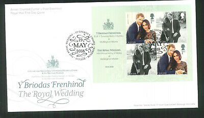 2018 FDC - Royal Wedding  St Georges Chapel Windsor 19 May  Postmark  post free