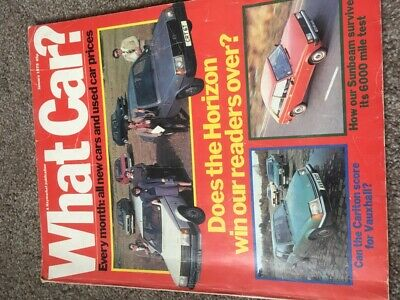 What Car Magazine Jan 1979