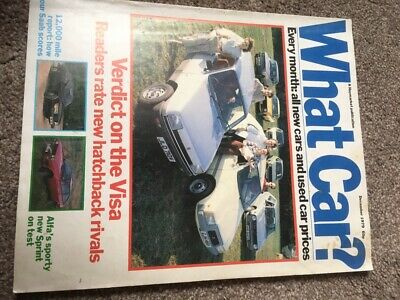 What Car Magazine Dec 1979