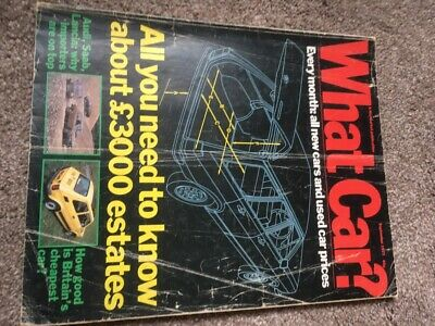 What Car Magazine Sept 1977