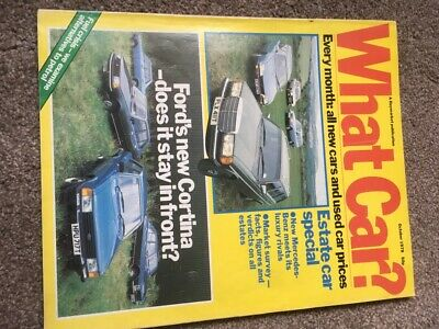 What Car Magazine Oct 1979