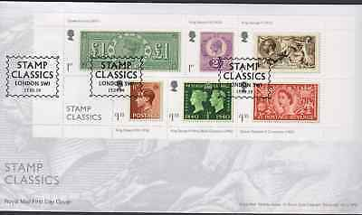 2019 FDC - Stamp Classics  London SW1 Postmark  - Post Free