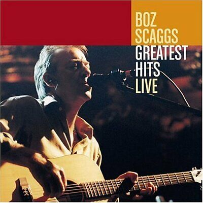 Scaggs,Boz-Greatest Hits Live Cd New