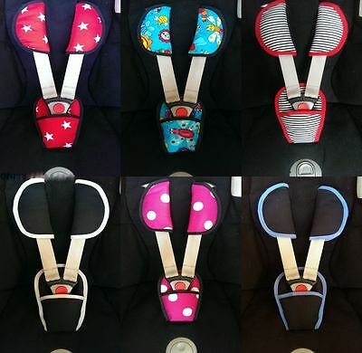 BRAND NEW shoulders & crotch pads to fit MAXI COSI CABRIO CABRIOFIX CAR SEAT