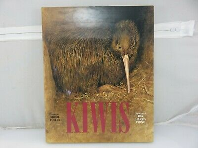 Kiwis Paintings & Drawings Hardcover Book By Ray Harris Ching Seto Publishing
