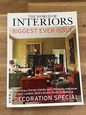 The World Of Interiors Biggest Ever Issue October 2015 (412 Pages)