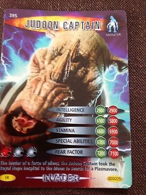 Doctor Who Battles in Time Super Rare card #395 Judoon Captain