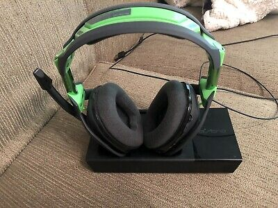 ASTRO Gaming A50 Wireless Dolby Gaming Headset - Black/Green -Xbox One + PC Gen3