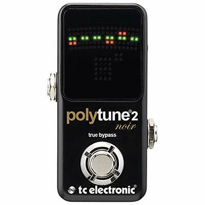 TC Electronic Polytune Noir Mini 2 Pedal Tuner w/ Tracking NEW