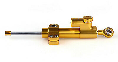 Universal Motorcycle CNC Adjustable Lenkungsdämpfer Stabilizer Top Gold A3