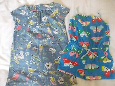 Girls Mini Boden Cotton Dress And Sun Suit Shorts Size Age 2-3 Years - Gorgeous