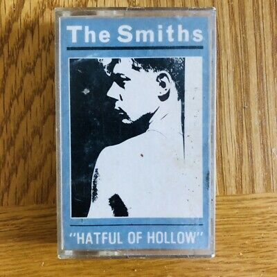 The Smiths Hatful Of Hollow Cassette Tape 1984 Blue Paper Label Rough Trade Uk
