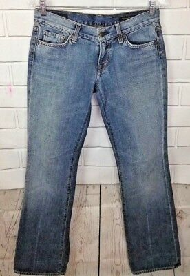Citizens Of Humanity Womens Jeans Cotton Kelly #001 Low Waist Boot Cut Size 27
