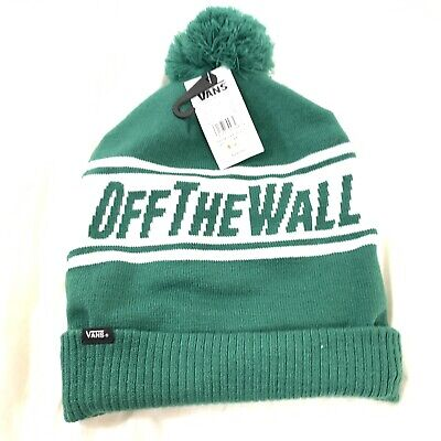 4f854fb4f VANS OFF THE Wall Elite Pom Cuff Beanie Red White Blue Mens Cap Hat ...