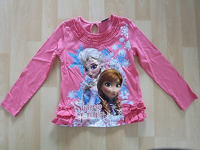 Girls Aged 5 - 6 Years Pink Frozen Top by Disney at George