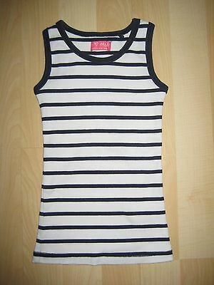 Girls Aged 4 Years White / Navy Striped Top by Next