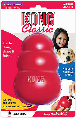 PHILLIPS PET FOOD SUPPLY Kong XL RED Dog Toy KXL