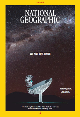 NATIONAL GEOGRAPHIC Magazine March 2019  🔥P.D.F🔥 📧(email delivery)📧