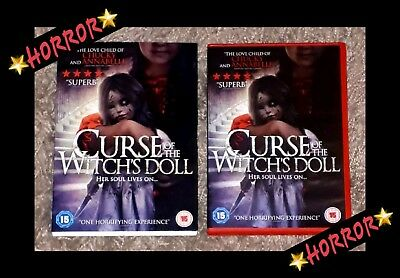 ❤Curse Of The Witch's Doll (Dvd,2018) Supernatural Horror-Genre Movie▪Cert.15❤
