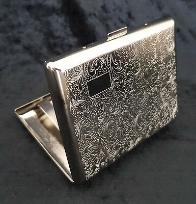 Metal And Matt & Polished Finish Cigarette/Utility Case