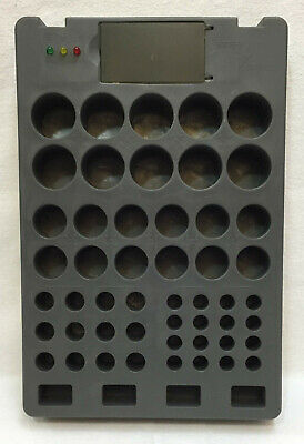 Battery Tester & Storage Organizer Holder D C AA AAA & 9V Volts Holds 54