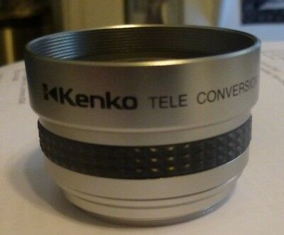 KENKO TELE CONVERSION LENS 2.0X KGT-20 37mm DIGITAL VIDEO CONVERTER MINT