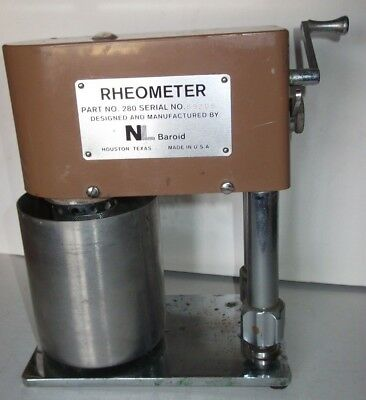 Baroid Rheometer Hand Powered Model 280 ( Fann 34A equivalent) Used