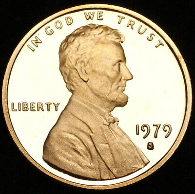 1979 S  Lincoln Memorial Mint Proof Penny ~ Type 1 ~ From U.S. Proof Set