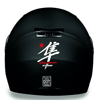 SUZUKI HAYABUSA GSXR 1300 HELMET KIT Decal Sticker Detail-Best Quality