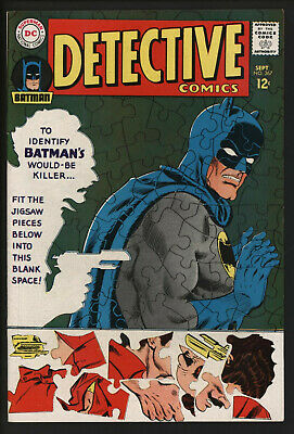 Detective Comics #367. Classic Anderson And Infantino Art.