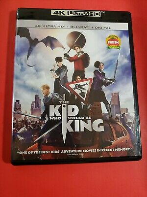 The Kid Who Would be King (4k UHD Blu-ray/Blu-ray, 2019)LIKE NEW NO/slipcover