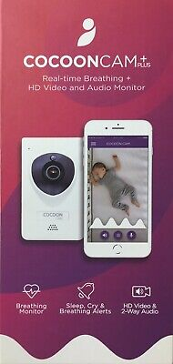 Cocoon Cam Plus Baby Breathing and Video Monitor - HD