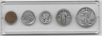 Old American Coin Type Set