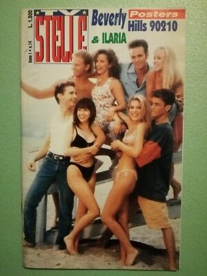 TV STELLE Anno 1 N°14 Sharon Stone Jovovich Perry poster Beverly Hills 9021