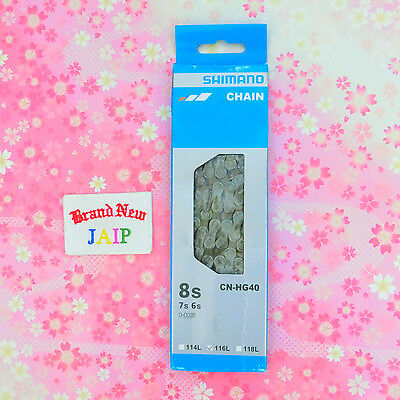 SHIMANO☆Japan-CN-HG40 6/7/8 Speed HG Chain With Connecting Pin 116 Links ,JAIP