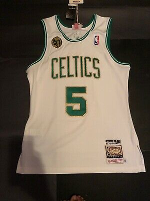 bd4ecc9d9f8c Kevin Garnett 2008 Boston Celtics Medium 40 Authentic Jersey Mitchell   Ness