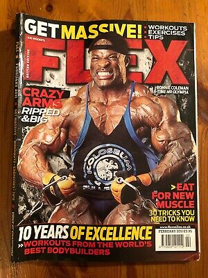 Flex magazine February 2011 Good Condition