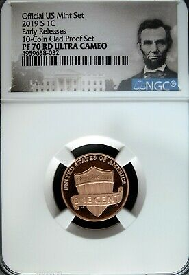 2019 S NGC PF 70 Red UCAM Lincoln Shield ☆☆ Early Releases ☆☆ Lincoln Label
