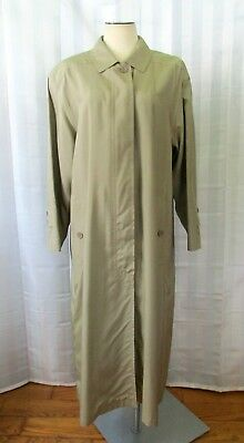 a152e07beff05 Vintage Escada Silk Trench Coat 1980s West Germany 40 Bust Size 38 or US 10