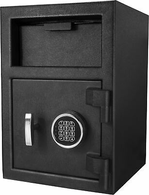 Barska Steel Digital Depository Safe Pin Code Drop Slot Security Box, AX12588