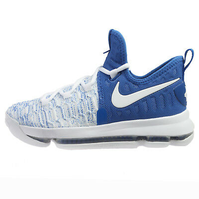 cade0f93be2 Nike Zoom KD 9 Basketball Shoes 855908 411 Game Royal Blue Kids Youth Size  6.5Y