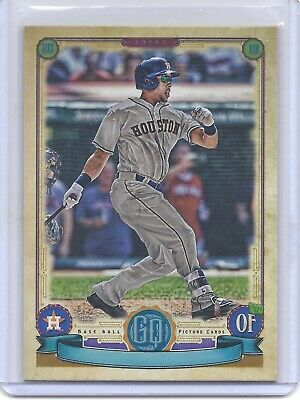 2019 Topps Gypsy Queen Missing Nameplate #54 Michael Brantley Houston Astros