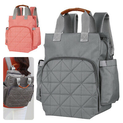 INS HOT Multi-use Large Mummy Baby Diaper Nappy Backpack Mom Changing Travel Bag