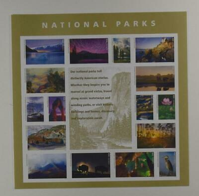 Us Scott 5080 Pane Of 16 National Parks Forever Stamps Mnh