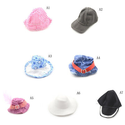 Fashion Doll Hat Headwear Accessories For  Dolls Gift New Toys For Girls